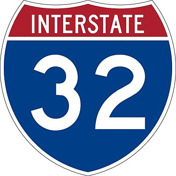 Interstate Number 32 | Interstate Highway Thirty two by igorsin