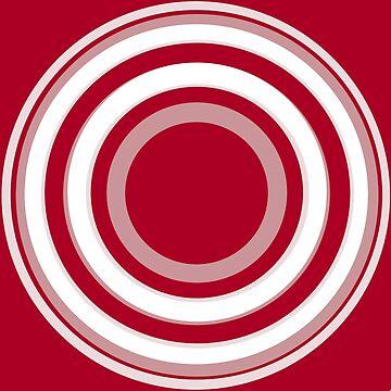 Rings on red by TiiaVissak
