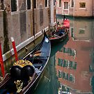 Quiet Water in Venice by Jacinthe Brault