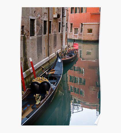 Quiet Water in Venice Poster