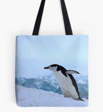 Chinstrap penguin in Antarctica, 4 Tote Bag