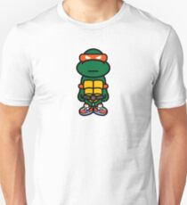 Orange Renaissance Turtle T-Shirt
