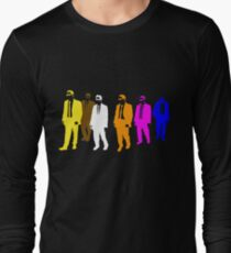 Reservoir Colors with Mr. Blue Long Sleeve T-Shirt