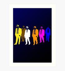 Reservoir Colors with Mr. Blue Art Print