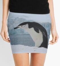 Chinstrap penguins in Antarctica,    7 Mini Skirt