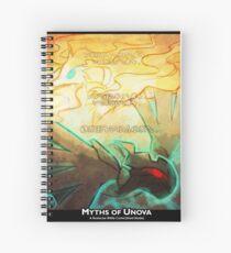 Myths of Unova Poster Spiral Notebook