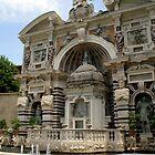 fountain of the organ, villa d'Este, Tivoli, Italy by BronReid