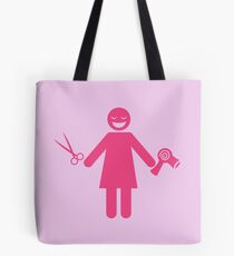 Hairdresser stylist woman  Tote Bag