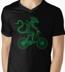 Alien Ride Mens V-Neck T-Shirt