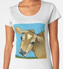 4265a97ac Jersey Cattle - Jersey Cow Painting - Jersey Cow Gift - Gift For Cow Lovers  Women's