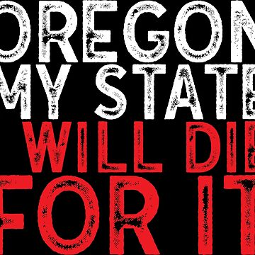 Oregon USA state by emphatic