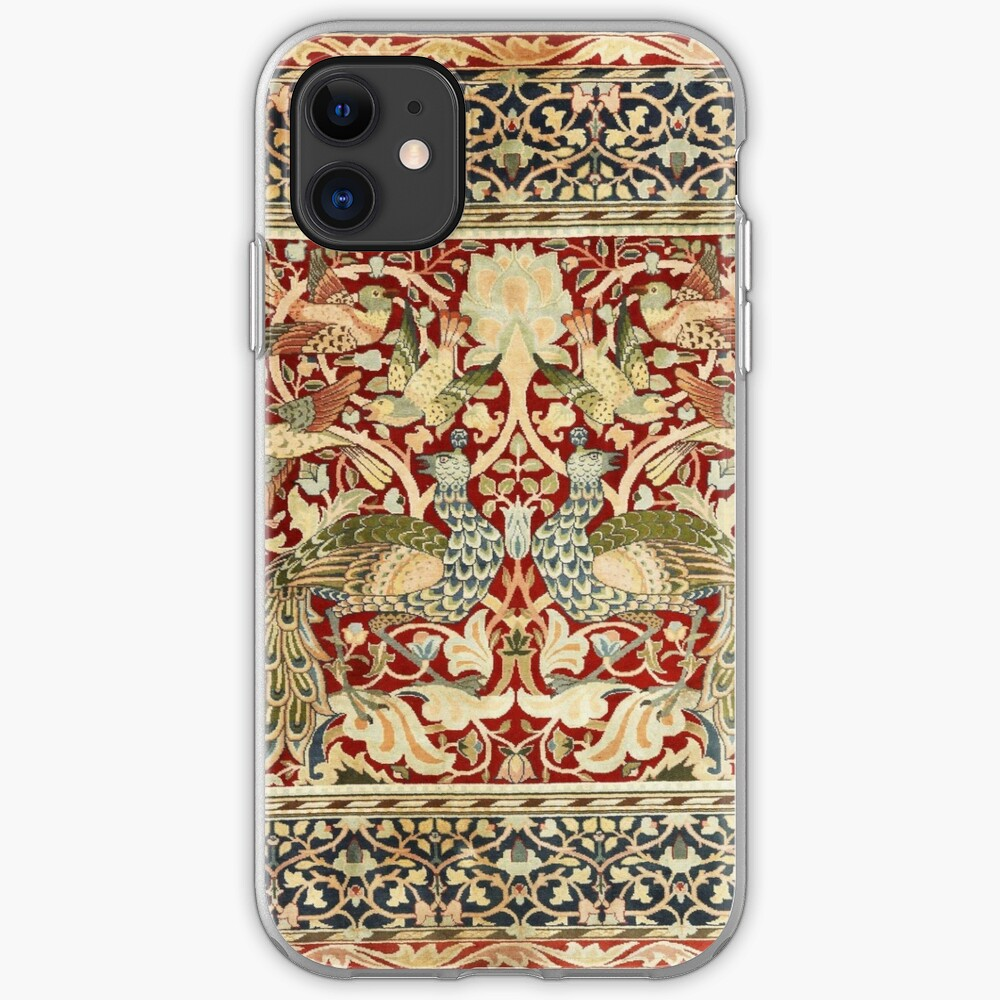 William Morris Vintage Floral Wallpaper Poster Iphone Case