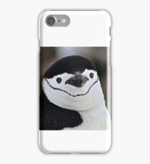 Chinstrap penguin in Antarctica,  Hollywood Headshot   18 iPhone Case/Skin