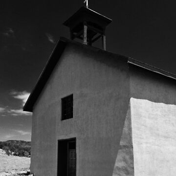 ADOBE CHURCH IN THE MANZANO MOUNTAINS by tomb42