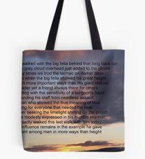 The Big Fella Tote Bag