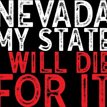 Nevada USA state by emphatic