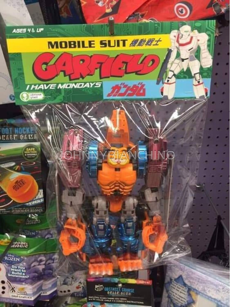 Mobile Suit Garfield by JOHNNYBIANCHINO