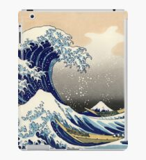 The Great Wave off Kanagawa  iPad Case/Skin