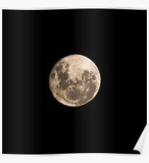 Lunar Perigee Poster