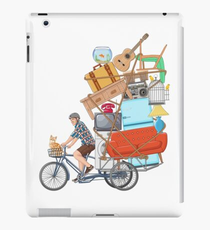 Life on the Move iPad Case/Skin