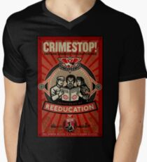 INGSOC 1984 Thoughtcrime Mens V-Neck T-Shirt