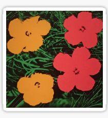 Flowerhol Sticker