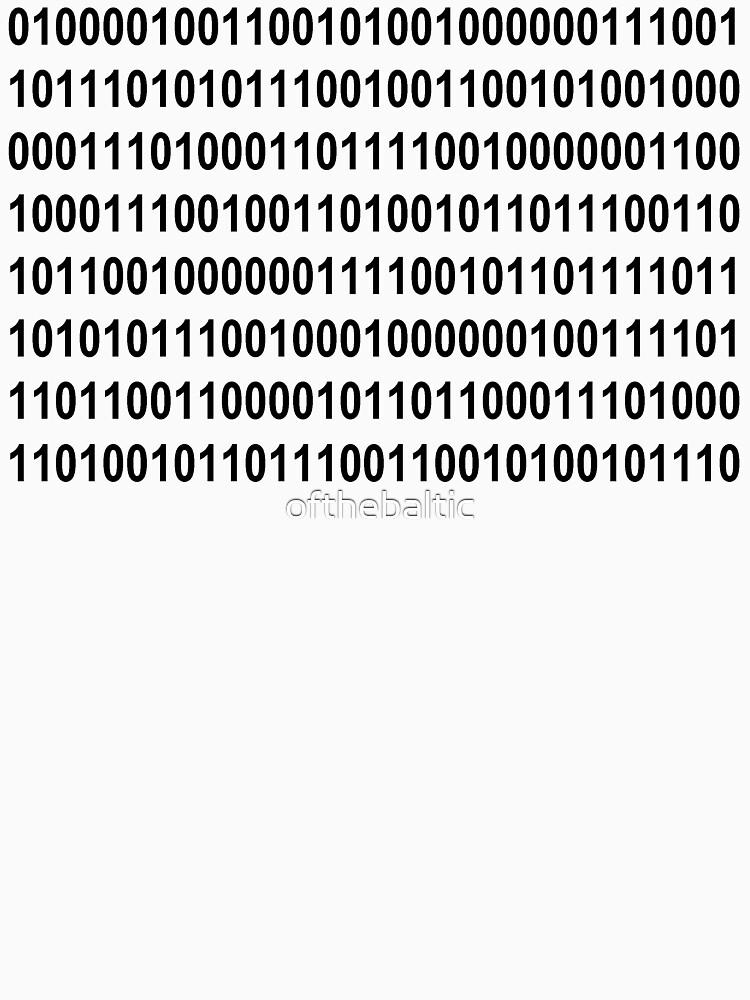 I love Binary by ofthebaltic