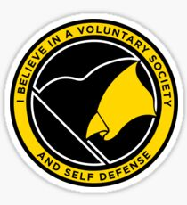 Voluntary Society Sticker