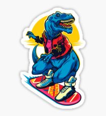 Rex to the Future Sticker