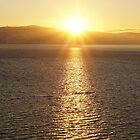Ohrid, Macedonia sunset by distracted