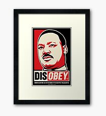 Martin Luther King Civil Disobedience Shirts Framed Print