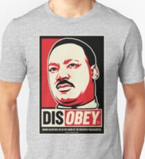 Martin Luther King Civil Disobedience Shirts Unisex T-Shirt