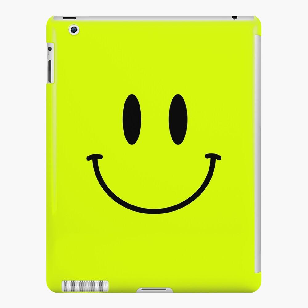 Retro Acid Smiley T Shirt iPad Case & Skin
