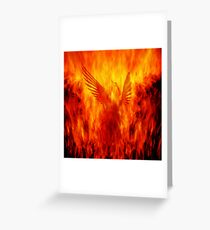 Phoenix Rising Greeting Card