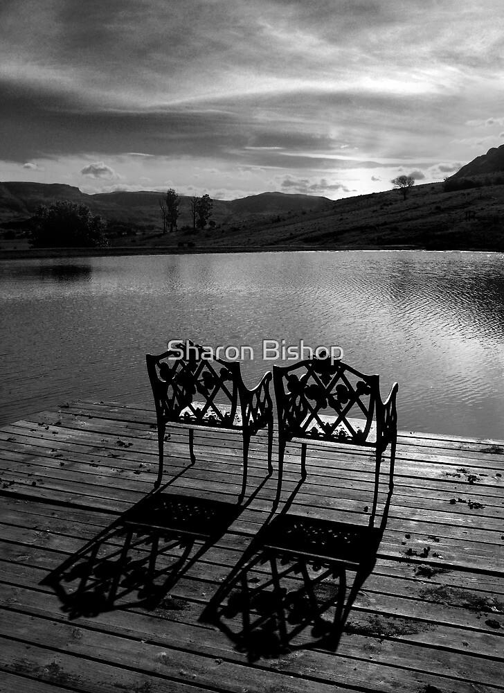 Just waiting... by Sharon Bishop