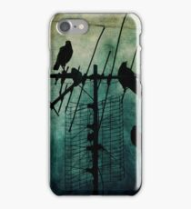 Silent Threats iPhone Case/Skin