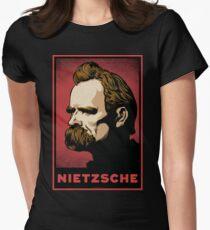 Nietzsche Print Women's Fitted T-Shirt