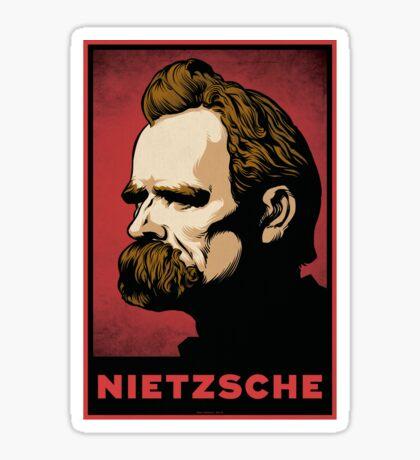 Nietzsche Print Sticker