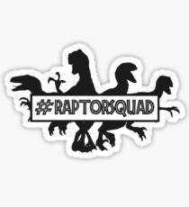 #RAPTORSQUAD Sticker