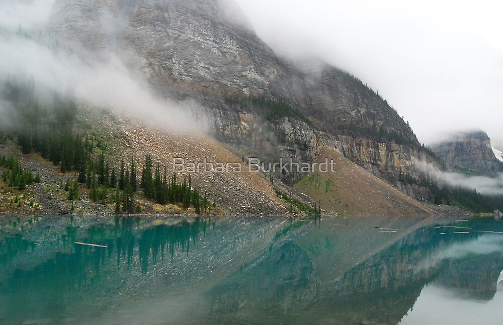 Time Stands Still - Moraine Lake by Barbara Burkhardt