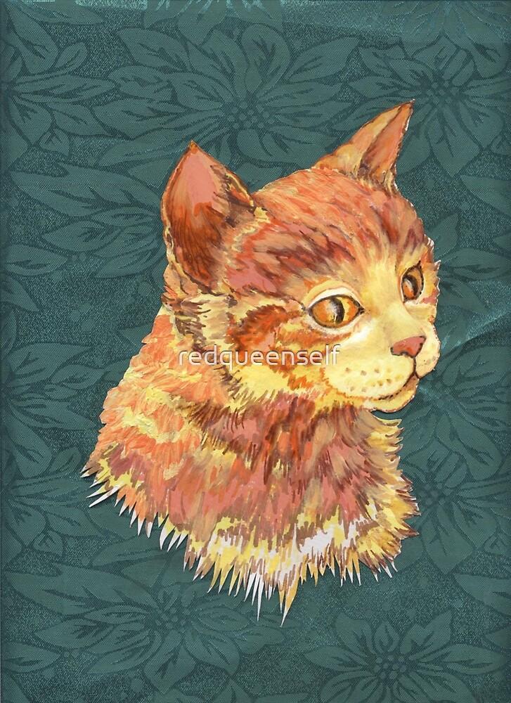 Pop Art Cat by redqueenself