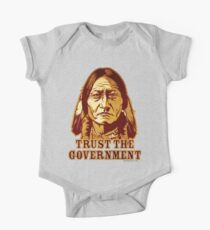 Trust The Government Sitting Bull Edition One Piece - Short Sleeve