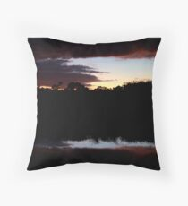Sleeping On Clouds Throw Pillow