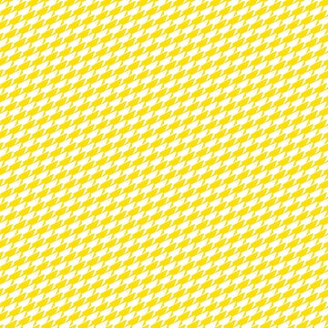 Sharkstooth Sharks Pattern Repeat in White and Yellow by podartist