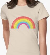 Vintage Rainbow Women's Fitted T-Shirt