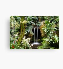 Oasis in the Polder # Canvas Print