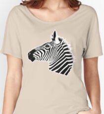 Zebra Head Women's Relaxed Fit T-Shirt