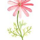 flower handpainted by aticnomar