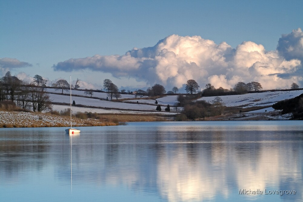Wimbleball Lake, Somerset by Michelle Lovegrove