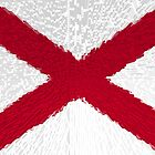 Extruded flag of Alabama by Dr-Pen